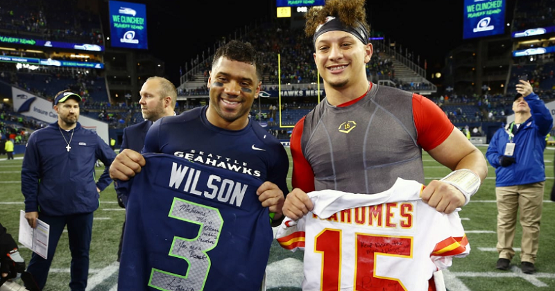 Patrick Mahomes & Russell Wilson